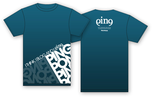 Ping T-Shirt Design