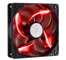 90 CFM Red LED Silent Fan 120mm