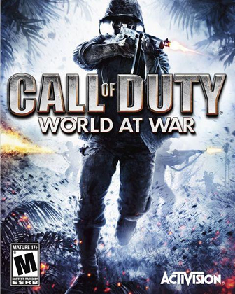Call of Duty 5: World at World Cover Art