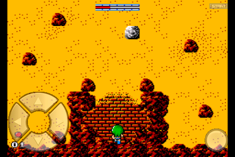 Golvellius Gameplay Screenshot