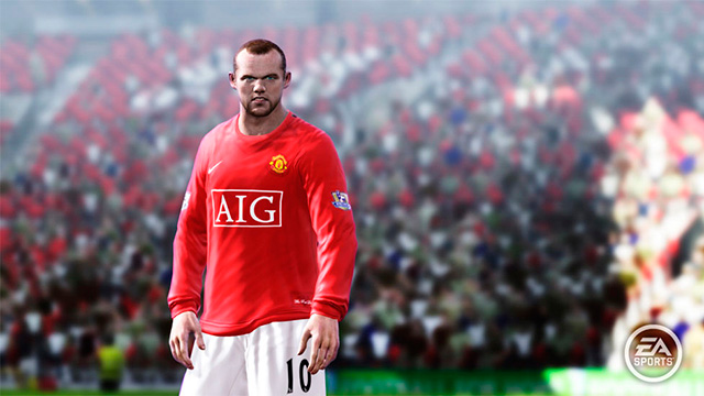 Fifa 10 Rooney Looks Angry