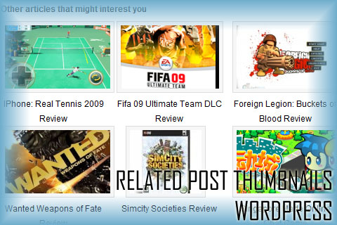 Thumbnails Related Post WordPress