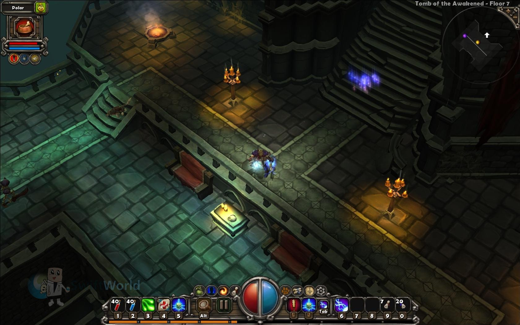 Torchlight Dynamically Created Dungeons