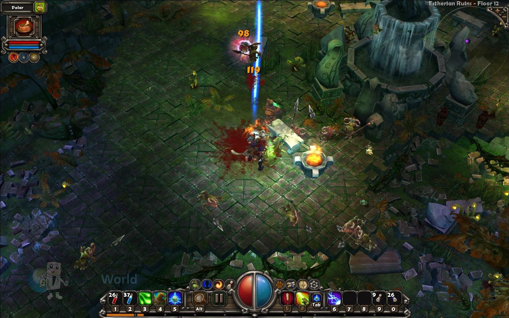 Torchlight Alchemist Skill