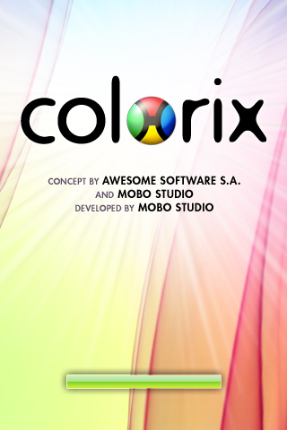 Colorix Main Screen