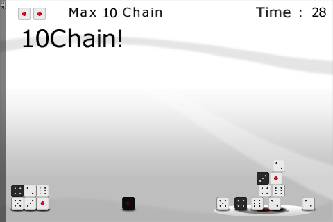 Dice Pile chain mode