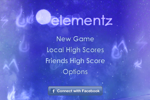 ElementZ Title Screen