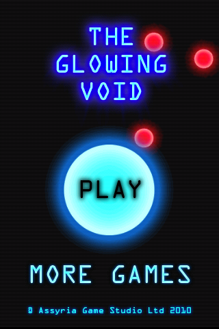 Glowing Void Title Screen