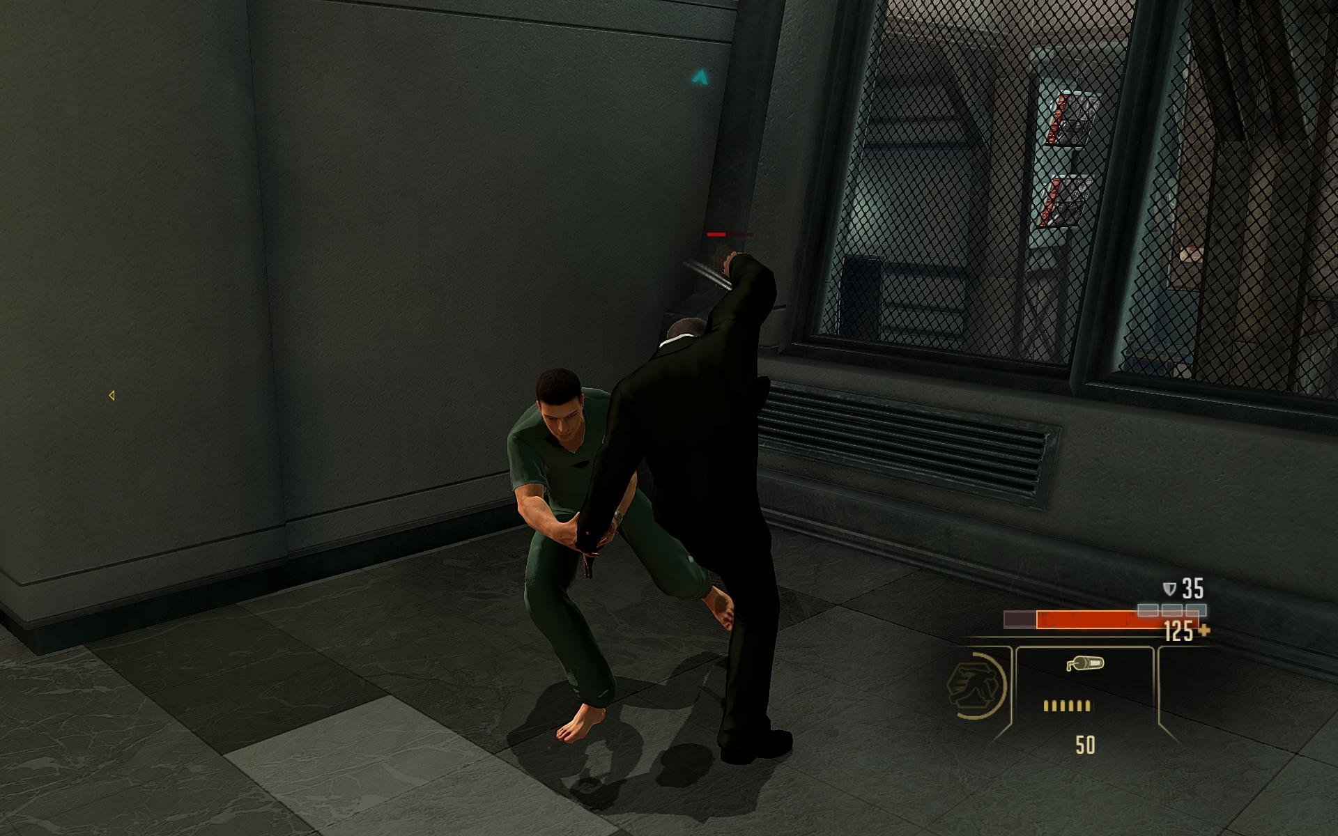 Alpha Protocol Sneak Take Down