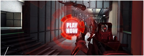 Interstellar Marine Running Man Play Now Banner