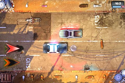 iPhone Cat Run Screenshot