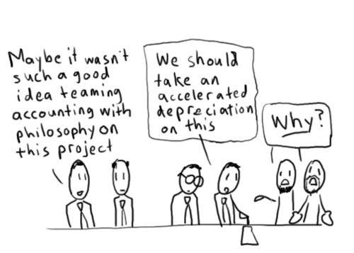 coporate philosophy comic