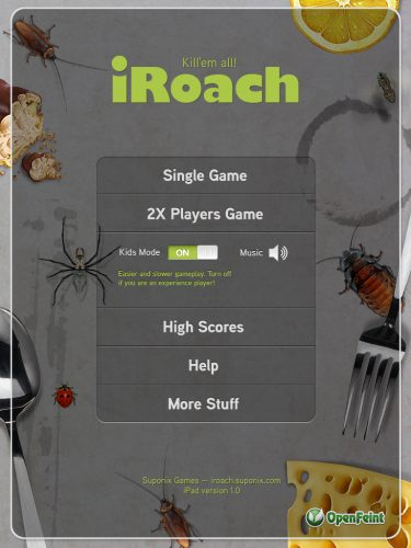 iRoach iPad Edition