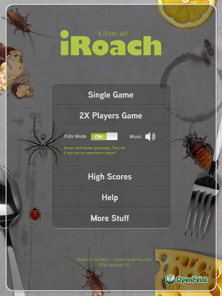 iRoach iPad Edition