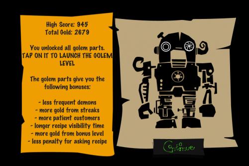 ElixirMaster Golem Upgrade