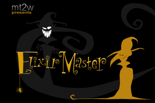ElixirMaster Title Screen