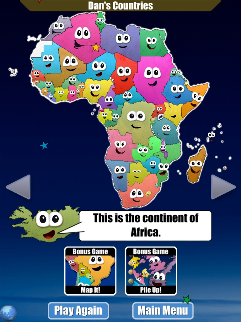 IPhone Stack The Countries Review Swift World - Countries of the world game