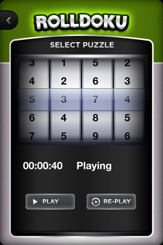 rolldoku select puzzle