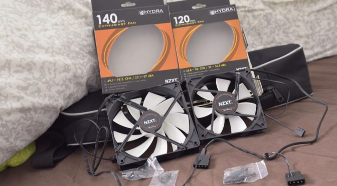 NZXT FX 120 & 140mm Enthusiast Fan Review