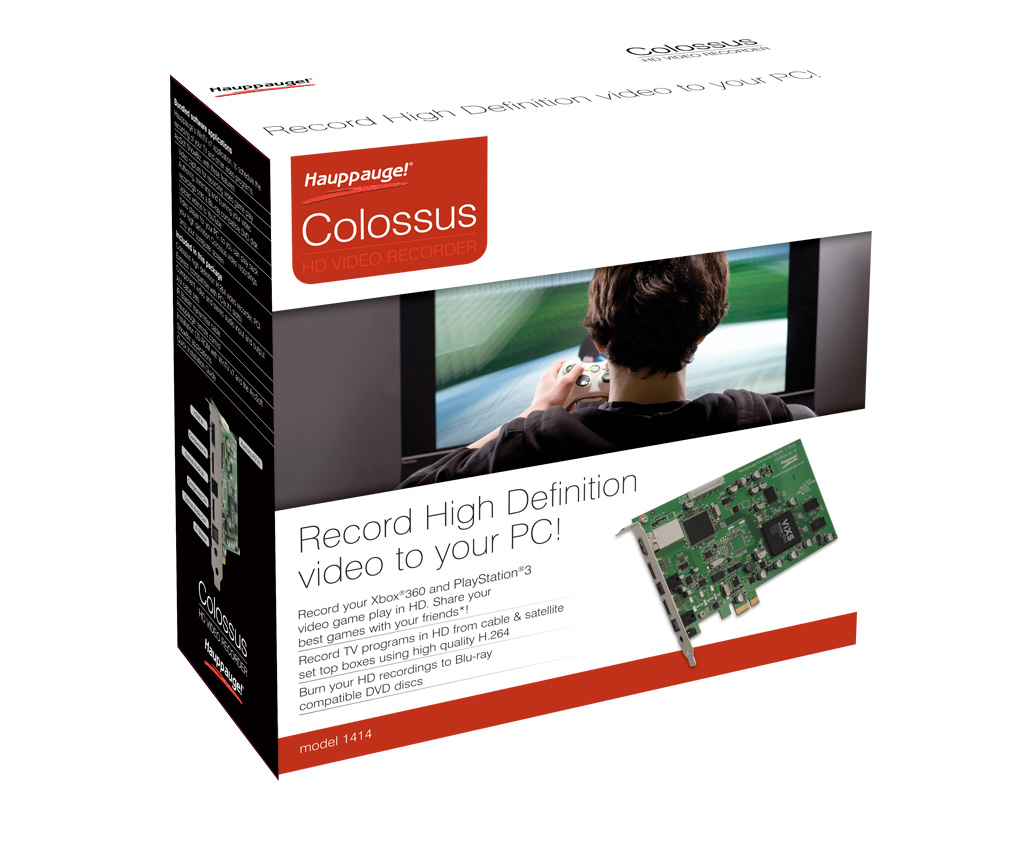 Hauppauge Colossus PCI Express Internal HD PVR