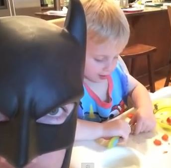 batdad and son