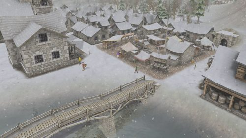 Banished Bridge to New Part of Town