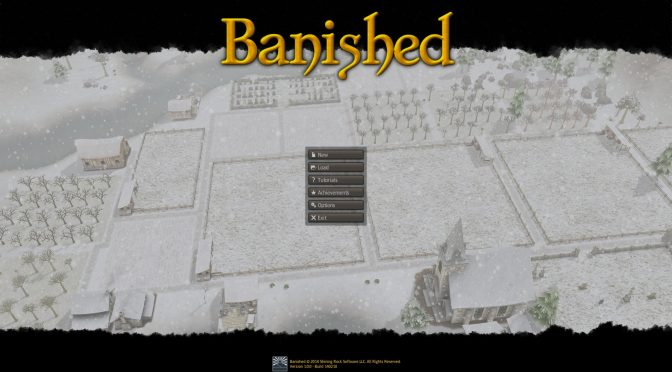 Banished Title Screen