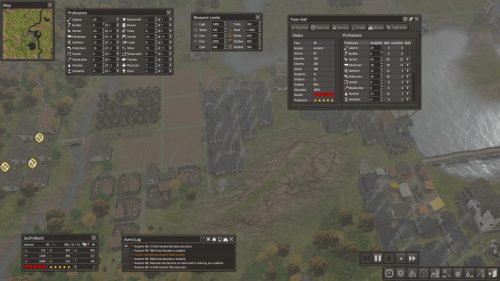 Banished UI and Stats