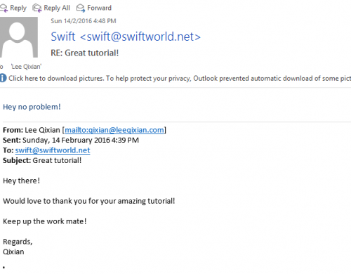 Success! Sending emails from my own domains!